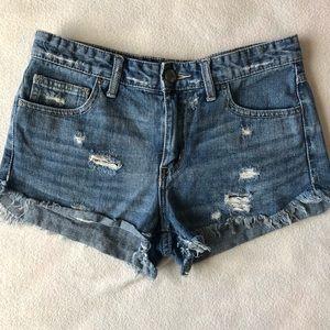 Free People Jean Shorts